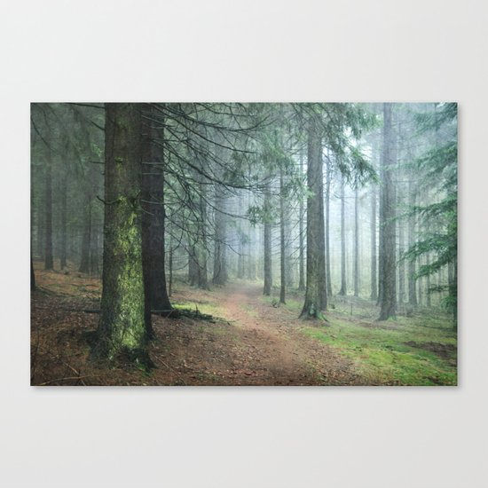 deep in thoughts Canvas Print