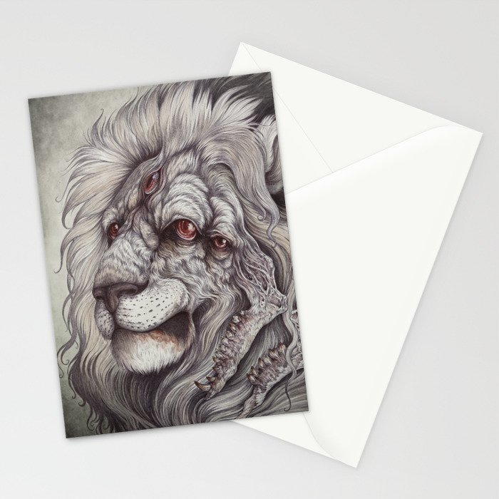 the Nemean Lion Stationery Cards