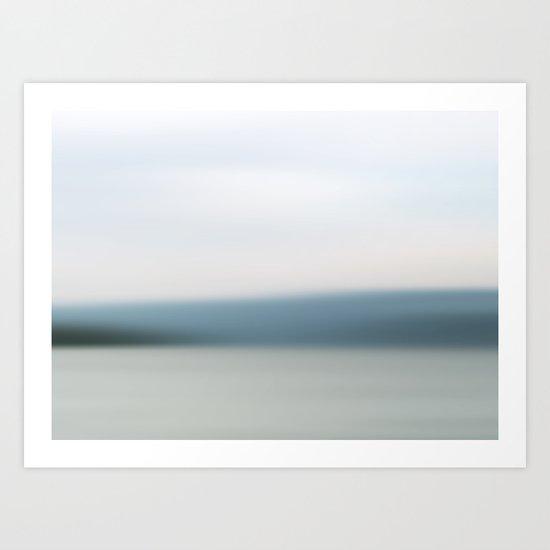 Canandaigua Lake 011313 1 Art Print