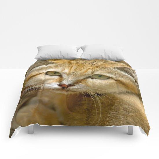 SAND CAT Comforters