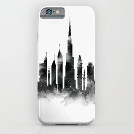 Dubai Skyline iPhone Case