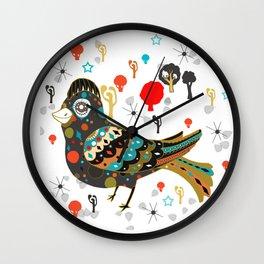 pretty lark Wall Clock