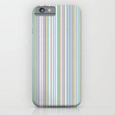 Soft Pinstripes iPhone 6s Slim Case