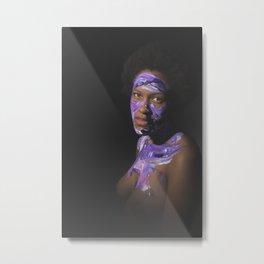 Colors of Women, T.B. Metal Print