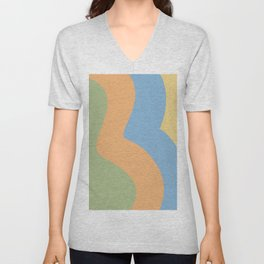 ROLL WITH THE CHANGES Unisex V-Neck