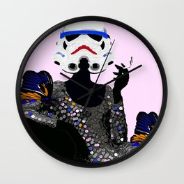Stormtrooper Diva:  I Don't Mad I Get Even Wall Clock
