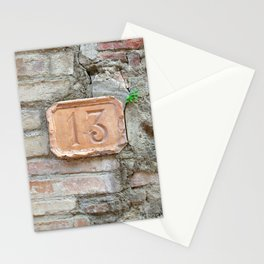 13 - Old World Door Stationery Cards