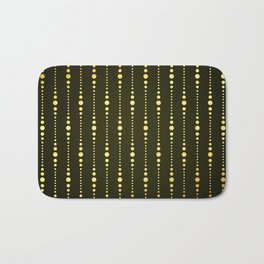 Art Deco Le Carnaval Pattern Bath Mat