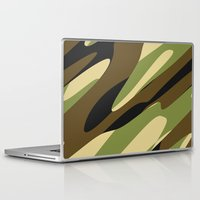 camo Laptop & iPad Skins featuring Camo by SShaw Photographic