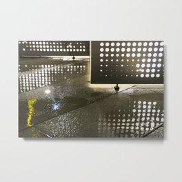 Wet Dots (b) Metal Print