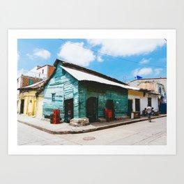 Cartagena, Colombia - Tienda Las Tablitas, Getsemani Art Print