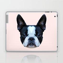 Frenchie / Boston Terrier // Pastel Pink Laptop & iPad Skin