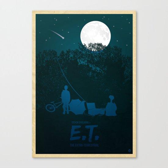 STEVEN SPIELBERG'S E.T. Canvas Print