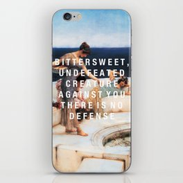 bittersweet, undefeated  iPhone Skin