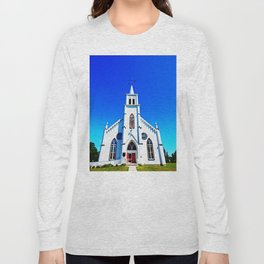 White Church Long Sleeve T-shirt