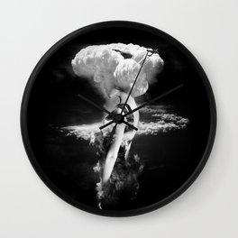 War Goddess Wall Clock