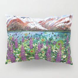 Carpathian in Lupine Pillow Sham