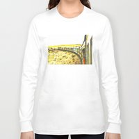 train Long Sleeve T-shirts featuring Train by Mr and Mrs Quirynen