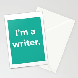 I'm a Writer Stationery Cards