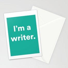 I'm a Writer Stationery Cards
