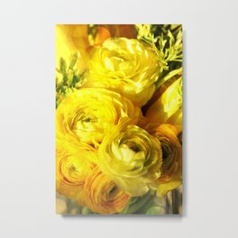 Golden Beauties Metal Print