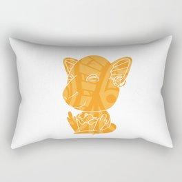 Tiki Kangaroo Rectangular Pillow