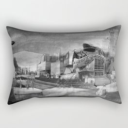 Asphalt Gallery (Art Gallery of Alberta) Rectangular Pillow