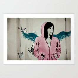 Lonely Youth Art Print