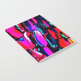 Dark Red Sugarcane Notebook