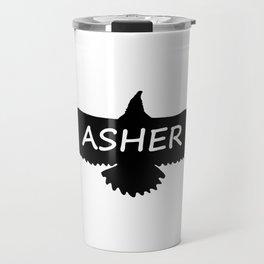 Asher Eagle Travel Mug