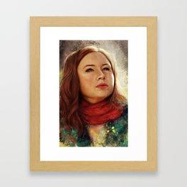 The Story of Amelia Pond Framed Art Print
