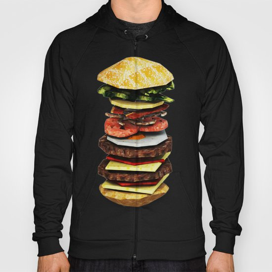 Graphic Burger Hoody