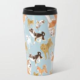 Japanese Dog Breeds Travel Mug
