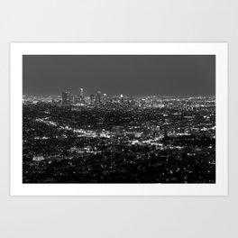 LA Lights No. 2 Art Print
