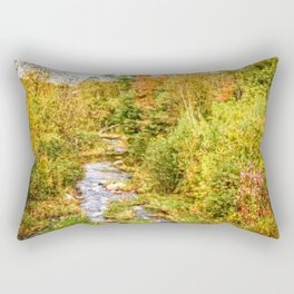 A New Hampshire Autumn Rectangular Pillow