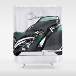 1930 Henderson Streamline Motorcycle Shower Curtain