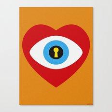 SPY LOVE Canvas Print