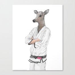 Dear Jiu Jitsu, Canvas Print