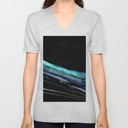 Bridging space Unisex V-Neck