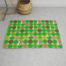 Glass Of Grass Rug