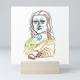 Monalisers Mini Art Print