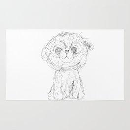 Puppy dog Rug
