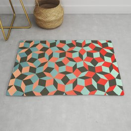Penrose tiling I Rug