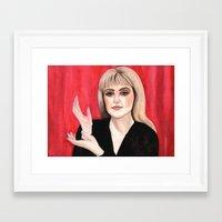 laura palmer Framed Art Prints featuring Twin Peaks: Laura Palmer by Amarie Fox