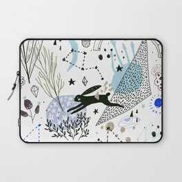 black rabbit Laptop Sleeve