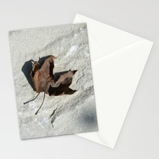 old leaf IV Stationery Cards
