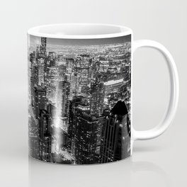 Nighttime Chicago Skyline Coffee Mug
