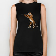 The Hunted becomes the Hunter Biker Tank