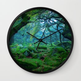 Forest #woods Wall Clock