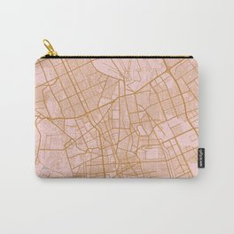 Riyadh map, Saudi Arabia Carry-All Pouch
